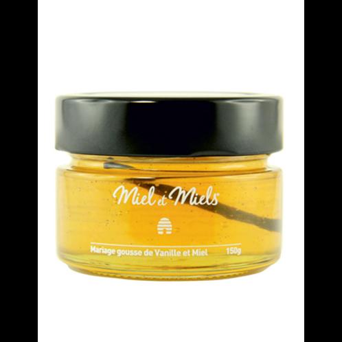 Mariage de miel et gousse de vanille 150 g