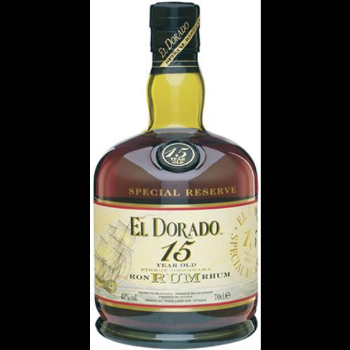 Rhum El Dorado 15 ans 43° 70 cl