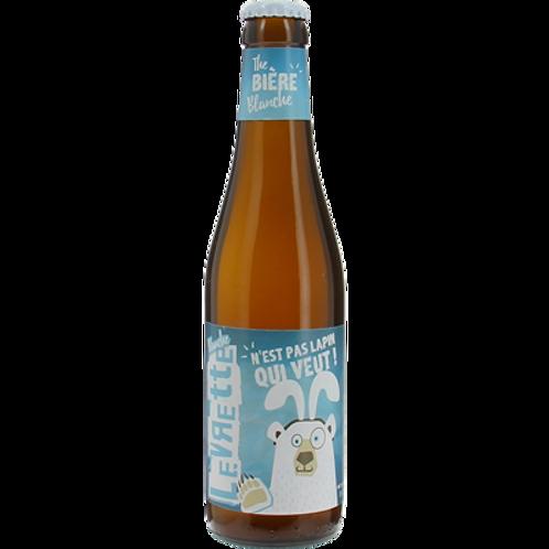 Bière blanche 5° 12x33 cl Levrette