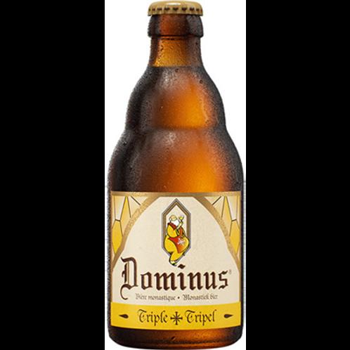 Bière blonde triple 8° 33 cl  Dominus (carton de 12 bouteilles)