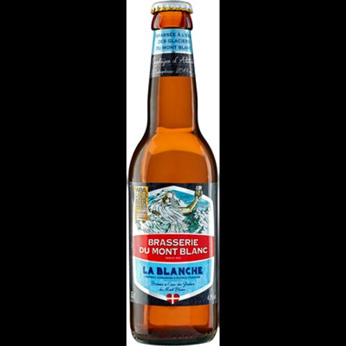 Bière blanche 4.7° 12X33 cl Brasserie du Mont-Blanc