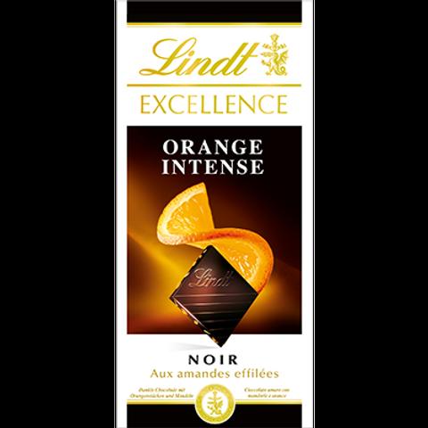 Chocolat Noir à l'orange 100 g Lindt