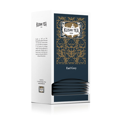 25 sachets Earl Grey Kusmi Tea