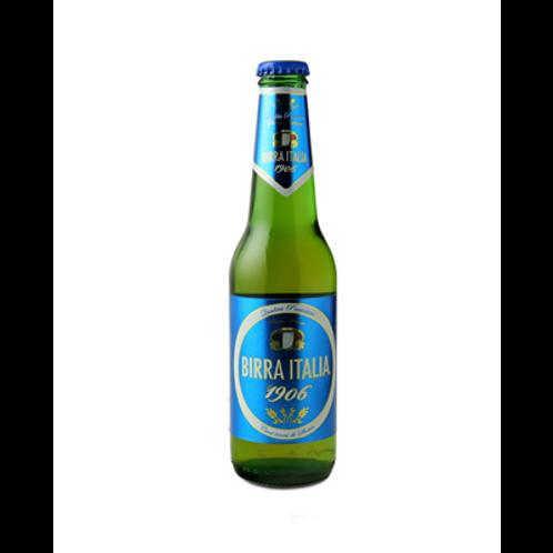 Bière blonde 4.8° 33 cl, Birra Italia, carton de 24 bouteilles,
