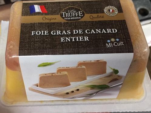 Foie gras de canard entier mi-cuit, 420g