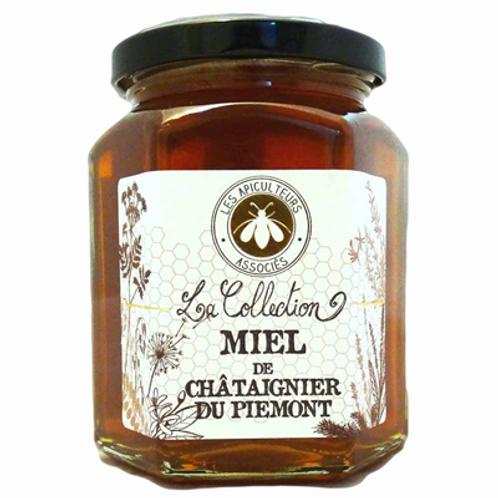 Miel de Châtaignier du Piemont 375 g Les Apiculteurs Associés
