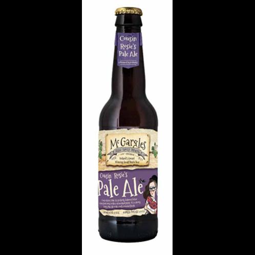 Bière blonde 4.5° 33 cl, Mc Gargles, carton de 4 bouteilles
