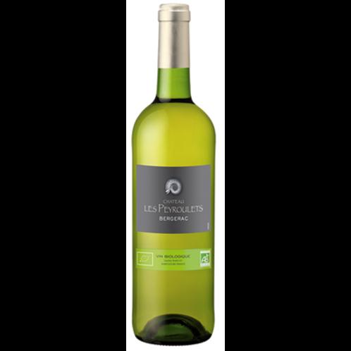 Château Les Peyroulets blanc vin Bio 2016 6x75 cl