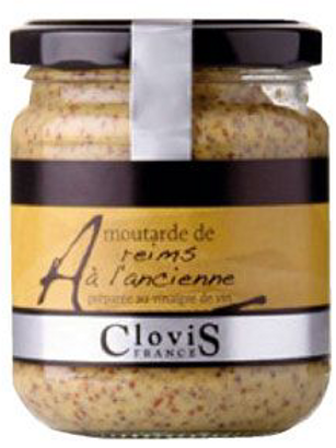 Moutarde de reims en grain 200 g Clovis