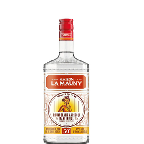 Rhum La Mauny blanc 50° 1 L