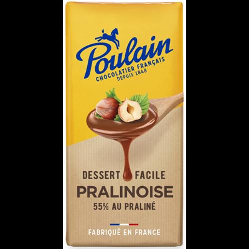 Chocolat pralinoise Dessert 200 g Poulain
