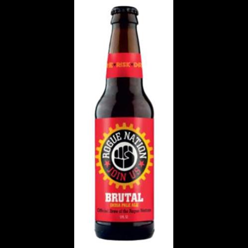 Bière ambrée 6.3° 35.5 cl, Rogue Brutal, carton de 12 bouteilles