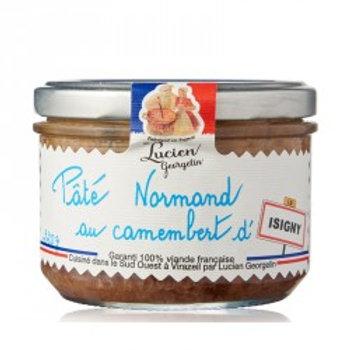 pâté normand au camembert d'isigny - 220g