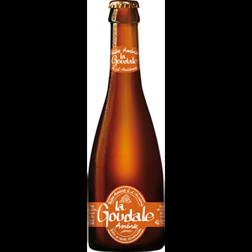 Bière ambrée 7.2° 12X33 cl verre perdu