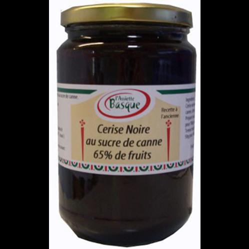 Confiture de cerises noires anciennes 800 g L'Assiette basque