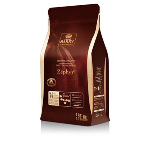 Chocolat blanc Zéphyr 34% 1 KG Barry