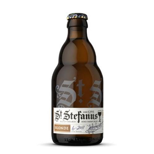 Bière blonde 7° 33 cl St Stefanus, carton de 12 bouteilles