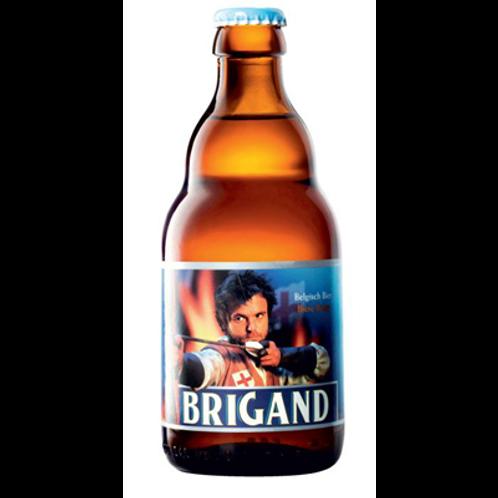 Bière blonde 9° 33 cl  Brigand, carton de 8 bouteilles