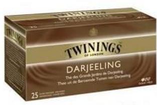 Thé Darjeeling 25 sachets Twinings