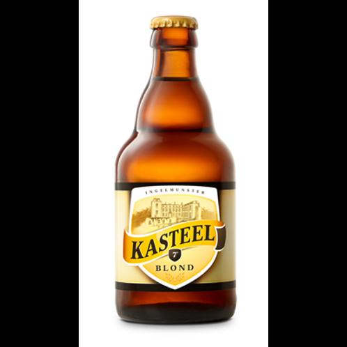 Bière blonde 7° 33 cl Kasteel, carton de 12 bouteilles
