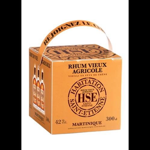 Rhum HSE Vieux agricole 42° 3 L