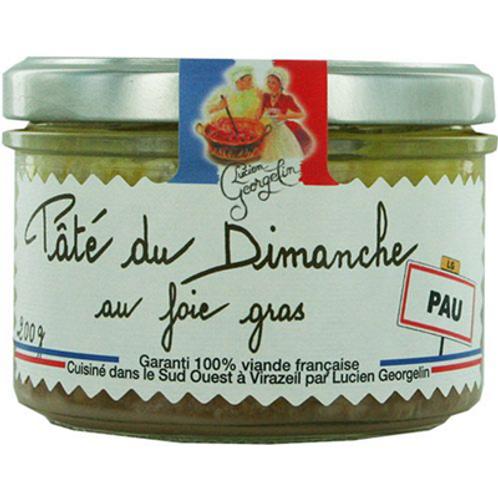 Pâté du dimanche au foie gras 220 G Lucien Georgelin