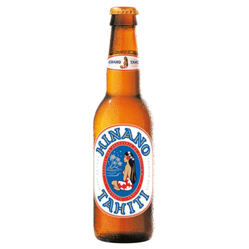 Bière blonde 5° 12X33 cl  Hinano