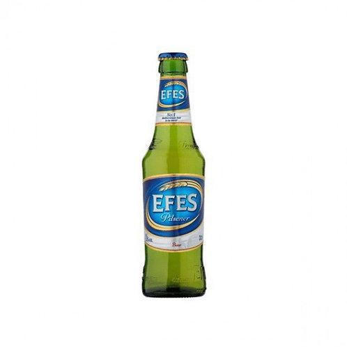 Bière blonde 5° 33 cl Efes, carton de 24 bouteilles