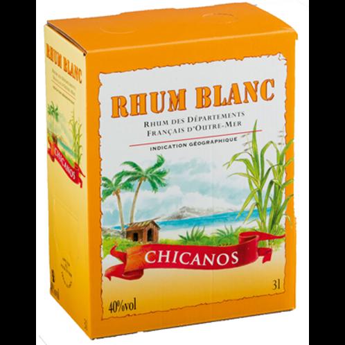 Rhum Chicanos blanc 40° 3 L