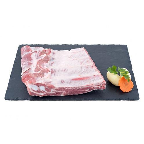 Travers de porc du Périgord frais à griller, 1kg