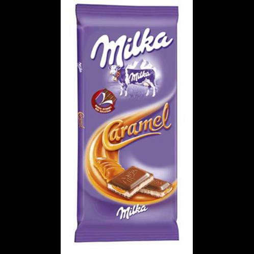 Tablette caramel 4 x 100 g Milka