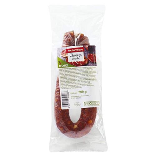 Chorizo doux 200G Rochambeau