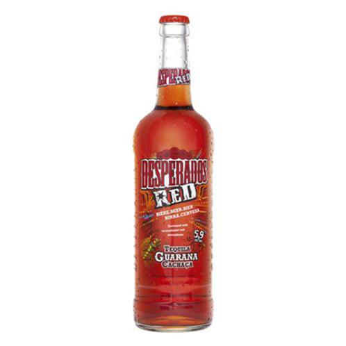 Bière aromatisée à la tequila 5.9° 12X65 cl Desperados Red