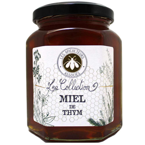 Miel de Thym 375 g Les Apicultureurs Associés