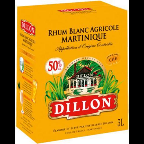 Rhum Dillon blanc 50° 3L