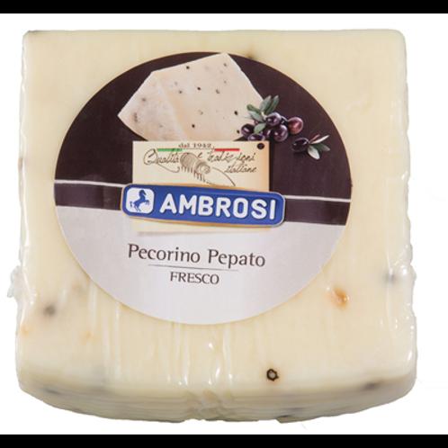 Pecorino Pepato 32% MG 1/4 de meule 1.5 kg environ Ambrosi
