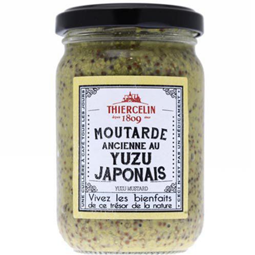 Moutarde ancienne au yuzu japonais 200 g Thiercelin