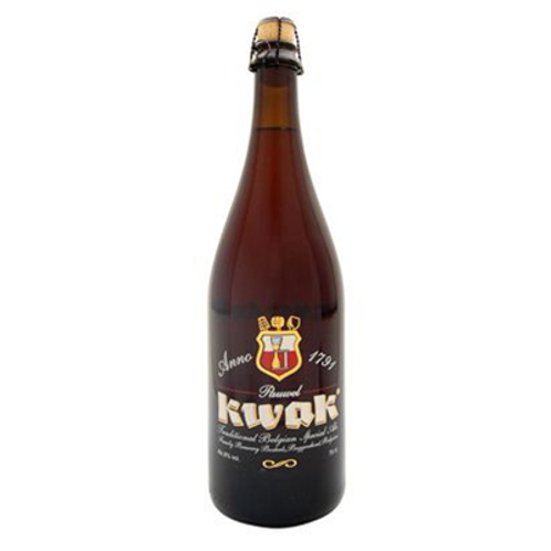 Bière ambrée 8.4° 75 cl Kwak