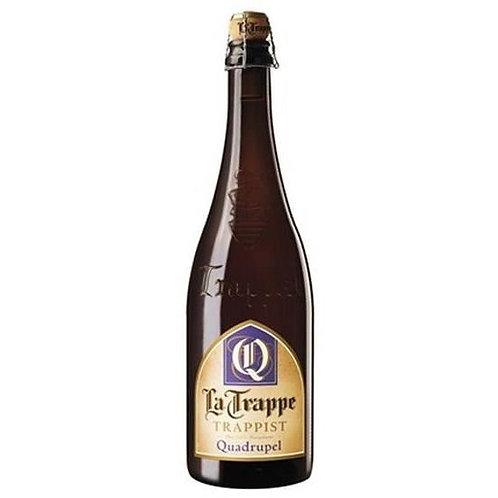 Bière blonde Quadruple 10° 75 cl La Trappe