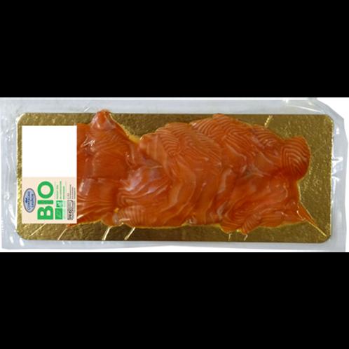Petite tranche saumon fumé Bio Athlantique 400 g Guyader