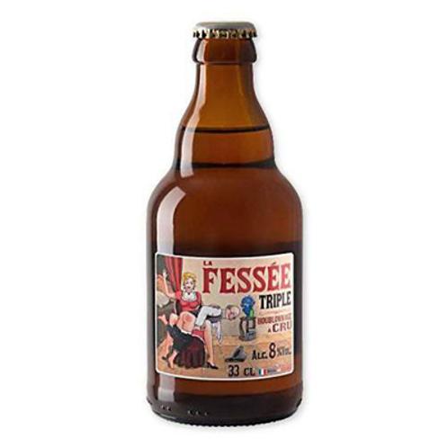 Bière blonde 7.2° 12X33 cl La Fessée