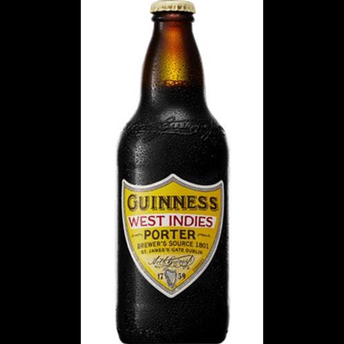 Bière brune 6° 12x50 cl Guiness West Indies