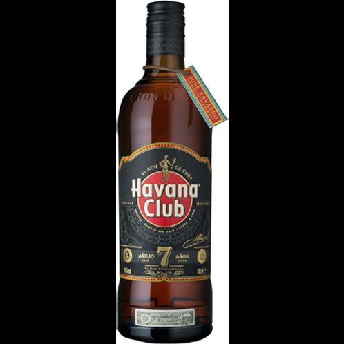 Rhum Havana Club 7 ans 40° 70 cl