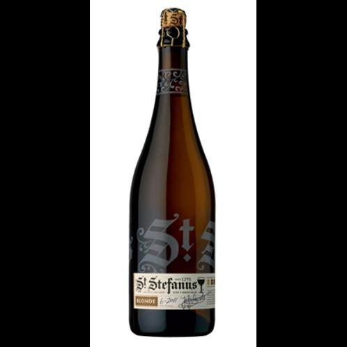 Bière blonde 7.4° 75 cl St Stephanus