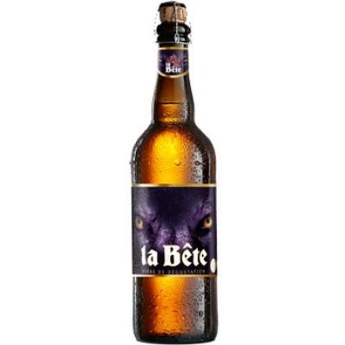 Bière ambrée 8° 75 cl La bête