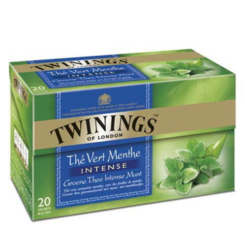 Thé vert/menthe intense 20 sachets Twinings