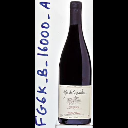 Faugères Vieilles Vignes Mas Capitelles Bio 2016 6X75 cl