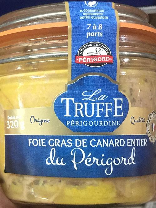 Foie gras de canard entier du Périgord, 320g