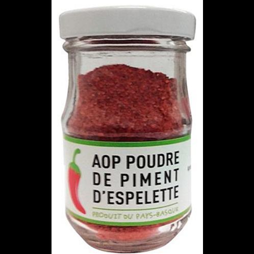 Poudre de piment d'Espelette AOP 50g