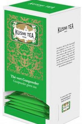 25 sachets Thé vert gunpowder 55 g Kusmi Tea